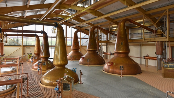 The Glenlivit Distillery
