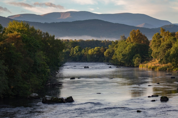 River Spey at Boat of Garten | Image by Richard Elliott