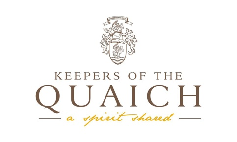 The official coat of arms of the Keepers of the Quaich.