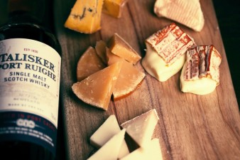 Whisky and cheese
